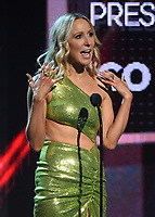 """HOLLYWOOD, CA - MAY 27: Nikki Glaser appears onstage at the 2021 """"iHeartRadio Music Awards"""" airing live from The Dolby Theatre in Los Angeles, Thursday, May 27 (8:00-10:00 PM ET live / PT tape-delayed) on FOX.  (Photo by Frank Micelotta/FOX/PictureGroup)"""