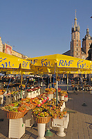 Poland, Krakow, Rynek Glowny, Grand Square,