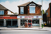 BNPS.co.uk (01202 558833)<br /> Pic: RayFisher/BNPS<br /> <br /> Pictured: Britbits in the 1980s.<br /> <br /> Tireless Ray Fisher still works full-time in the motorcycle shop he opened 62 years ago - and he has plenty left in the tank.<br /> <br /> The 85 year old founded Ray Fisher's Brickbits in Christchurch, Dorset, in 1959 after training as a bike mechanic.<br /> <br /> It is a family affair as his two children Gerry, 58, and Stephanie, 54, have both worked solely for him since leaving school aged 16.<br /> <br /> Ray said he had loved bikes since childhood and learnt how to repair them while doing national service in the early 1950s.