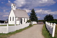 New Brunswick, NB, Canada, St. Mark's Church at King's Landing Historical Settlement