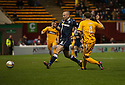 Motherwell's Nicky Law scores Motherwell's second goal...