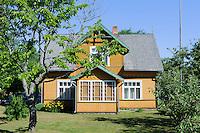 Holzhaus in Kosrags, Lettland, Europa