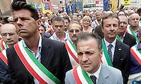 20120724 ROMA-CRONACA: SPENDING REVIEW, PROTESTA DEI SINDACI CONTRO I TAGLI