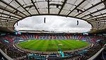14.06.2021 Scotland v Czech Republic:  Teams line up