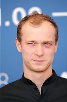 """VENICE, ITALY - SEPTEMBER 09: Jurij Borisov at the photocall of """"Mama, I'm Home"""" during the 78th Venice International Film Festival on September 09, 2021 in Venice, Italy. <br /> CAP/GOL<br /> ©GOL/Capital Pictures"""