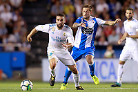 Deportivo de la Coruna's Fede Cartabia (r) and Real Madrid's Daniel Carvajal during La Liga match. August 20,2017.  *** Local Caption *** © pixathlon