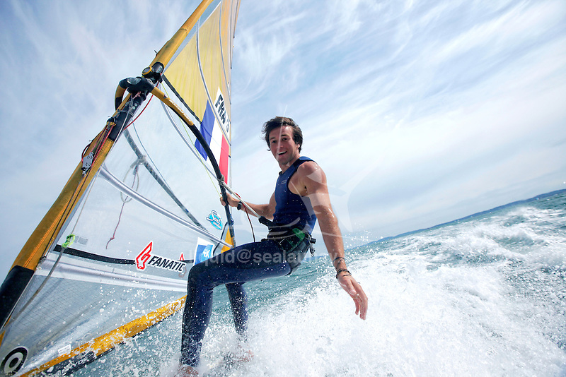 ISAF Sailing World Cup Hyères - Fédération Française de Voile. RSX Men, Thomas Goyard.