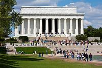 Washington, D.C.  Lincoln Memorial.