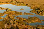 Aerial View of Umatilla National Wildlife Refuge in Morrow, Oregon