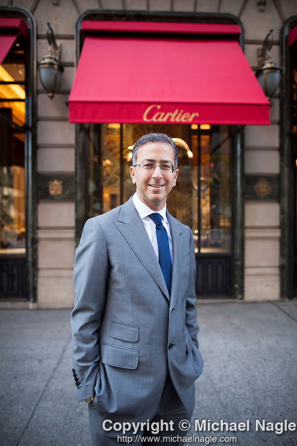 © 2013 MICHAEL NAGLE<br /> <br /> Isaac Chera poses for a portrait in front of 651 Fifth Avenue on May 14th, 2013, in New York City.  (PHOTOGRAPH BY MICHAEL NAGLE)