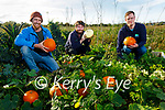 The Tralee Bay Wetlands Launching their scavenger hunt in the Wetlands on Monday, which will take place on the 25th, 27th and 29th of October, l to r: Tom Canaban, Alan Balfe and Kieran Galwey