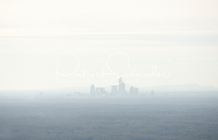 Charlotte in the mist.
