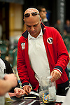 Walid Bou Habib is the chip leader on Day 1B.
