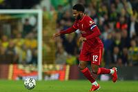 21st September 2021; Carrow Road, Norwich, England; EFL Cup Footballl Norwich City versus Liverpool; Joe Gomez of Liverpool