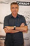 "The Spanish Presenter tv Carles Francino Attends the premiere ""Tu Voz entre Otras Mil Antonio Vega"" at Proyecciones Cinema in Madrid, SpainMadrid. May 13, 2014. (ALTERPHOTOS / Nacho Lopez)"