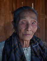 Phaungdawoo Village on Inle lake, Shan State, Myanmar/Burma