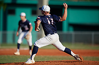 Brad Rudis (17) during the WWBA World Championship at Lee County Player Development Complex on October 9, 2020 in Fort Myers, Florida.  Brad Rudis, a resident of Madisonville, Texas who attends Madisonville High School, is committed to Texas A&M.  (Mike Janes/Four Seam Images)