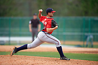 Atlanta Braves Bryan Morgado (32) during an intrasquad Spring Training game on March 29, 2016 at ESPN Wide World of Sports Complex in Orlando, Florida.  (Mike Janes/Four Seam Images)
