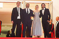 MEL GIBSON, ERIN MORIARTY, JEAN-FRANCOIS RICHET, DIEGO LUNA - CANNES 2016 - MONTEE DU FILM 'BLOOD FATHER'