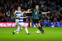 Mike van der Hoorn of Swansea City in action during the Sky Bet Championship match between Queens Park Rangers and Swansea City at The Kiyan Prince Foundation Stadium in London, England, UK. Wednesday 21, August 2019