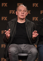 """PASADENA, CA - JANUARY 9: Cast member Zach Grenier attends the panel for """"Devs"""" during the FX Networks presentation at the 2020 TCA Winter Press Tour at the Langham Huntington on January 9, 2020 in Pasadena, California. (Photo by Frank Micelotta/FX Networks/PictureGroup)"""