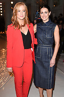 Sarah Jane Mee and Kirsty Gallagher<br /> at the Jasper Conran AW17 show as part of London Fashion Week AW17 at Claridges, London.<br /> <br /> <br /> ©Ash Knotek  D3230  17/02/2017