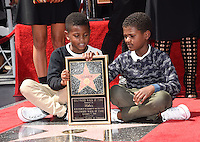 Usher sons @ Usher Walk of Fame ceremony held @ 6201 Hollywood blvd. September 7, 2016 , Hollywood, USA. # USHER A SON ETOILE SUR LE 'WALK OF FAME'
