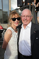 SEptember 3,, 2012 - Montreal (Qc) CANADA -  <br />  Montreal World Film Festival closing cocktail-  - Bernard Landry and Chantale Renaud (L)