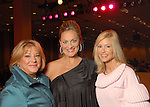 From left: Chairs Wendy Burks, Rachel Regan and Patti Murphy at the Saks Fifth Avenue Fashion Show and Luncheon at the Nutcracker Market Thursday Nov. 12,2009. (Dave Rossman/For the Chronicle)