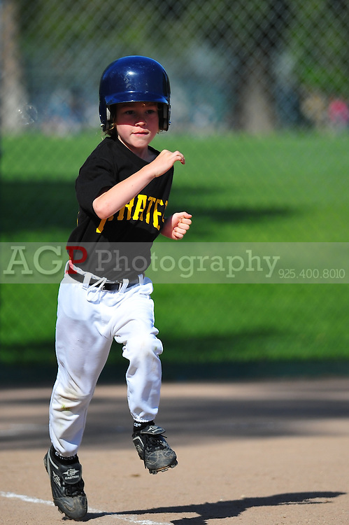 The PNLL Farm Pirates at the Pleasanton Sports Park May 8, 2010. (Photo by Alan Greth)