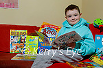 Christopher Lynch from Tralee was hand-picked by Over The Moon Books to review their childrens books and Chris has also started recording himself reading books for other kids to enjoy .