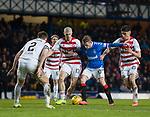 04.03.2020: Rangers v Hamilton: Steven Davis tries to find some space