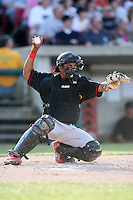 May 25, 2008: Quad Cities River Bandits Luis De La Cruz (17) against the Kane County Cougars at Elfstrom Stadium in Geneva, IL. Photo by: Chris Proctor/Four Seam Images