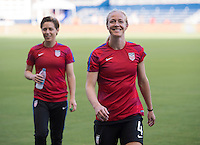 Kansas City, KS - July 21, 2016: The USWNT defeated Costa Rica 4-0 during their friendly at Children's Mercy Park.