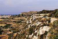Victoria Lines, Malta.  Mosta Fort.