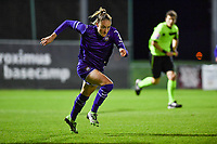 Tessa Wullaert (27) of Anderlecht pictured during a female soccer game between RSC Anderlecht Dames and SV Zulte Waregem on the 10 th matchday of the 2020 - 2021 season of Belgian Womens Super League , friday 18 th of December 2020  in Tubize , Belgium . PHOTO SPORTPIX.BE | SPP | DAVID CATRY