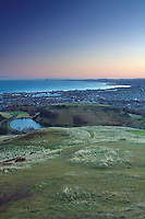 The Lothian and East Lothian Coastlines and the Firth of Forth from Arthur's Seat, Edinburgh, Lothian