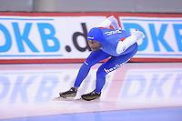 SPEED SKATING: SALT LAKE CITY: 19-11-2015, Utah Olympic Oval, ISU World Cup, training, Shani Davis (USA), ©foto Martin de Jong