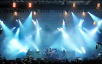 With Full Force Festival 2008 - 4.-6.7.2008  Flugplatz Roitzschjora b. Löbnitz - Das größte und breitgefächertste Metal- und Hardcorefestival in Ostdeutschland - drei Tage volle Dröhnung - über 60 Bands - Headliner in diesem Jahr u.a. Bullet for my Valentine , Machine Head , Ministry und In Flames - im Bild: Bühne von Machine Head..Foto: Norman Rembarz.
