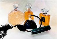 Above; from left; 180 mL of Ombre Rose eau de toilette splash; $85; 100 mL of Diva eau de parfum; $68; 60 mL of Decadence eau de toilette with atomizer bulb; $85; 15 mL refillable container of Poison natural spray; $70; 100 mL of Coco eau de parfum; $90. All from Holt Renfrew.