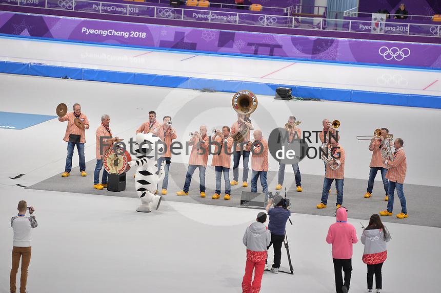 OLYMPIC GAMES: PYEONGCHANG: 14-02-2018, Gangneung Oval, Long Track, 1000m Ladies, Kleintje Pils, ©photo Martin de Jong