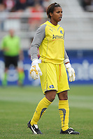 LA Sol goalkeeper Karina LeBlanc (23)    The LA Sol defeated the Washington Freedom 1-0 at the Maryland Soccerplex, Sunday July 5, 2009.