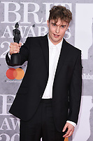 Sam Fender<br /> arriving for the BRIT Awards 2019 at the O2 Arena, London<br /> <br /> ©Ash Knotek  D3482  20/02/2019<br /> <br /> *images for editorial use only*