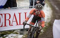Lars Van der Haar (NLD) <br /> <br /> Elite Men's race<br /> <br /> 2015 UCI World Championships Cyclocross <br /> Tabor, Czech Republic