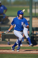 Kansas City Royals Roman Collins (34) during an instructional league game against the San Francisco Giants on October 23, 2015 at the Papago Baseball Facility in Phoenix, Arizona.  (Mike Janes/Four Seam Images)
