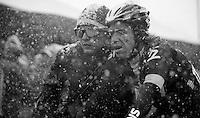 2013 Giro d'Italia.stage 20: Silandro - Tre Cime di Lavaredo (2304m)..Rigoberto Uran (COL) post finish