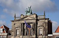 Nederland  Haarlem - 2020.  Het Teylers Museum aan het Spaarne.   Foto : ANP/ HH / Berlinda van Dam