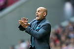 Coach Francisco Jemez Martin, Paco Jemez, of UD Las Palmas reacts during the La Liga 2017-18 match between Atletico de Madrid and UD Las Palmas at Wanda Metropolitano on January 28 2018 in Madrid, Spain. Photo by Diego Souto / Power Sport Images