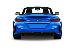 Straight rear view of a 2020 BMW Z4 Base 2 Door Convertible stock images