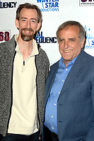 """LOS ANGELES - AUG 11:  Tim Lowry, Derrick Warfel at """"Final Frequency"""" Screening & Red Carpet at Laemmle Town Center on August 11, 2021 in Encino, CA"""